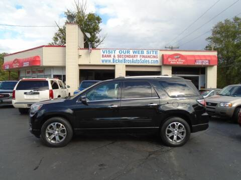 2014 GMC Acadia for sale at Bickel Bros Auto Sales, Inc in Louisville KY