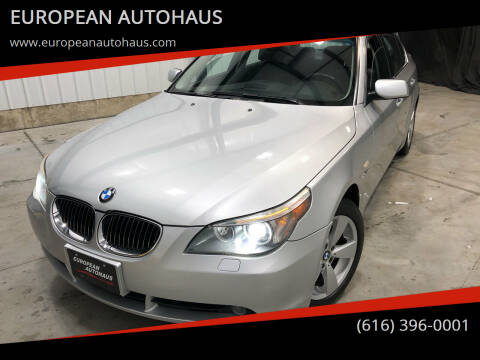 2007 BMW 5 Series for sale at EUROPEAN AUTOHAUS in Holland MI