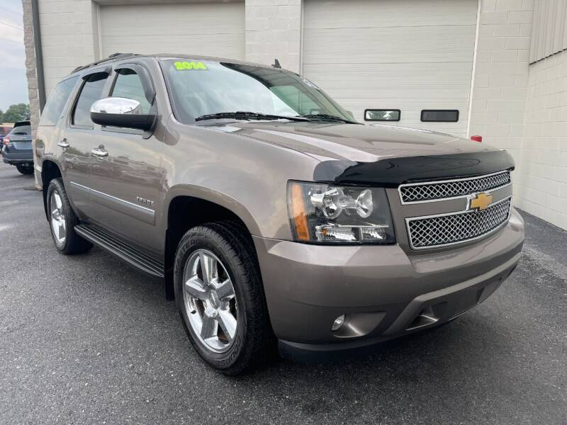 2014 Chevrolet Tahoe for sale at Zimmerman's Automotive in Mechanicsburg PA