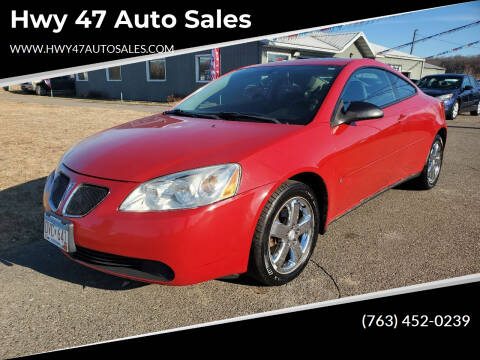 2006 Pontiac G6 for sale at Hwy 47 Auto Sales in Saint Francis MN