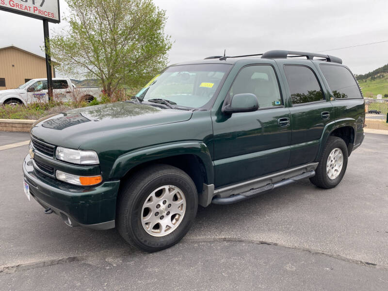 2004 Chevrolet Tahoe for sale at Big Deal Auto Sales in Rapid City SD