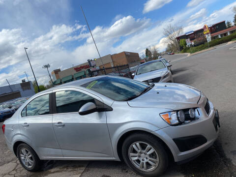 2013 Chevrolet Sonic for sale at Sanaa Auto Sales LLC in Denver CO