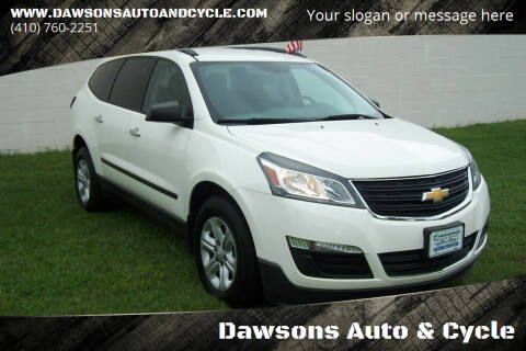 2015 Chevrolet Traverse for sale at Dawsons Auto & Cycle in Glen Burnie MD