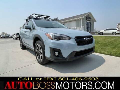 2018 Subaru Crosstrek for sale at Auto Boss in Woods Cross UT