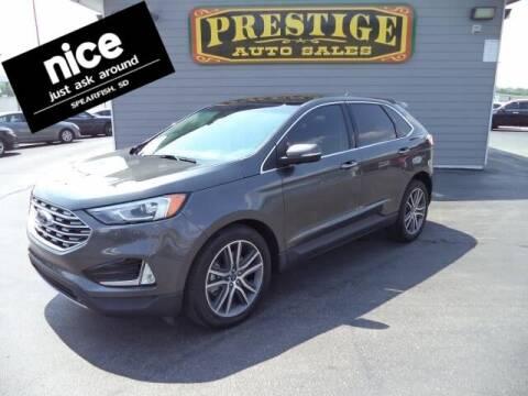 2020 Ford Edge for sale at PRESTIGE AUTO SALES in Spearfish SD