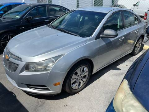 2014 Chevrolet Cruze for sale at Dream Cars 4 U in Hollywood FL