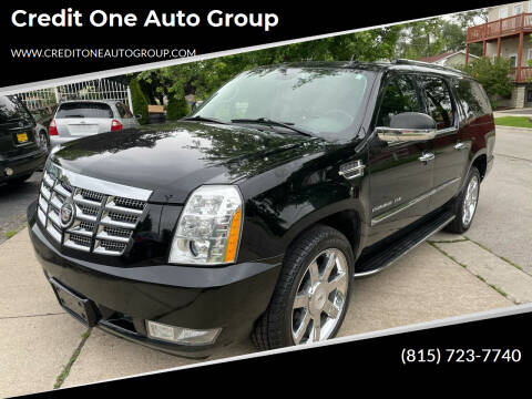 2011 Cadillac Escalade ESV for sale at Credit One Auto Group in Joliet IL
