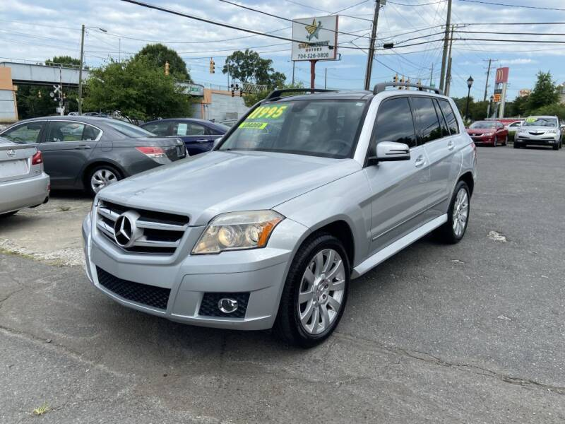 2010 Mercedes-Benz GLK for sale at Starmount Motors in Charlotte NC