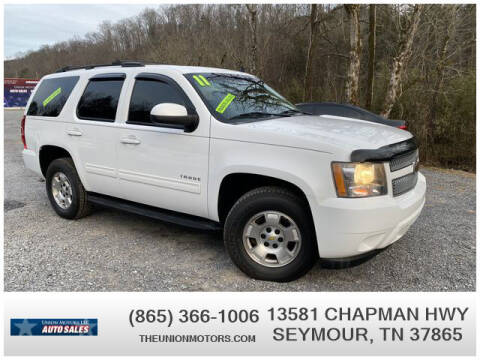 2011 Chevrolet Tahoe for sale at Union Motors in Seymour TN