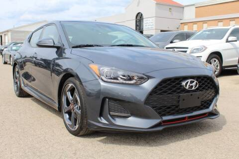 2019 Hyundai Veloster for sale at SHAFER AUTO GROUP in Columbus OH