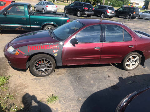 2003 Chevrolet Cavalier for sale at D and D All American Financing in Warren MI
