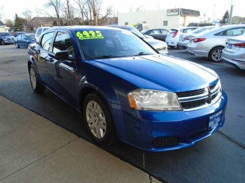 2013 Dodge Avenger for sale at DISCOVER AUTO SALES in Racine WI