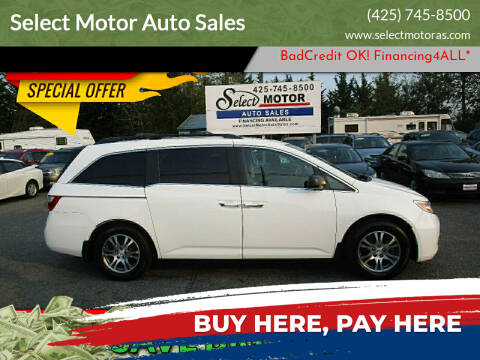 2012 Honda Odyssey for sale at Select Motor Auto Sales in Lynnwood WA