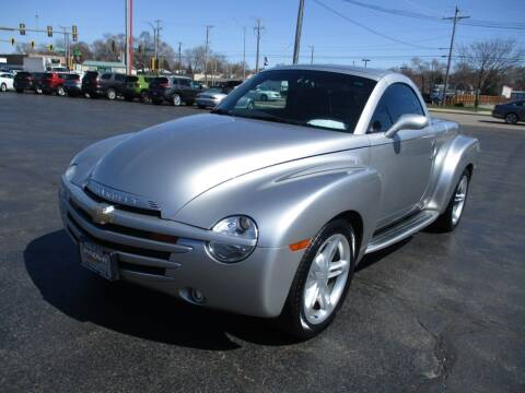2005 Chevrolet SSR for sale at Windsor Auto Sales in Loves Park IL