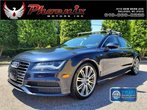 2014 Audi A7 for sale at Phoenix Motors Inc in Raleigh NC