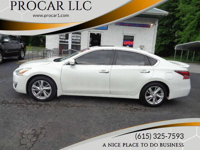 2015 Nissan Altima for sale at PROCAR LLC in Portland TN