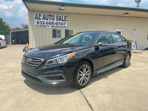 2017 Hyundai Sonata for sale at AZ Auto Sale in Houston TX