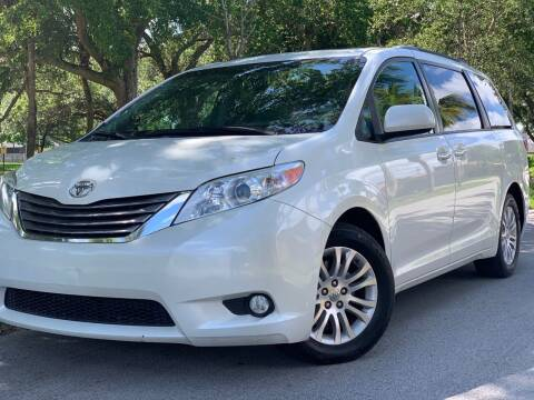 2017 Toyota Sienna for sale at HIGH PERFORMANCE MOTORS in Hollywood FL