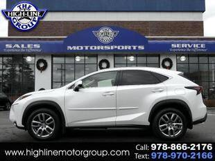 2016 Lexus NX 200t for sale at Highline Group Motorsports in Lowell MA