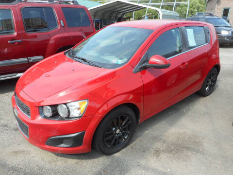 2013 Chevrolet Sonic for sale at Sleepy Hollow Motors in New Eagle PA