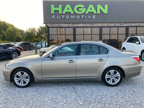2010 BMW 5 Series for sale at Hagan Automotive in Chatham IL