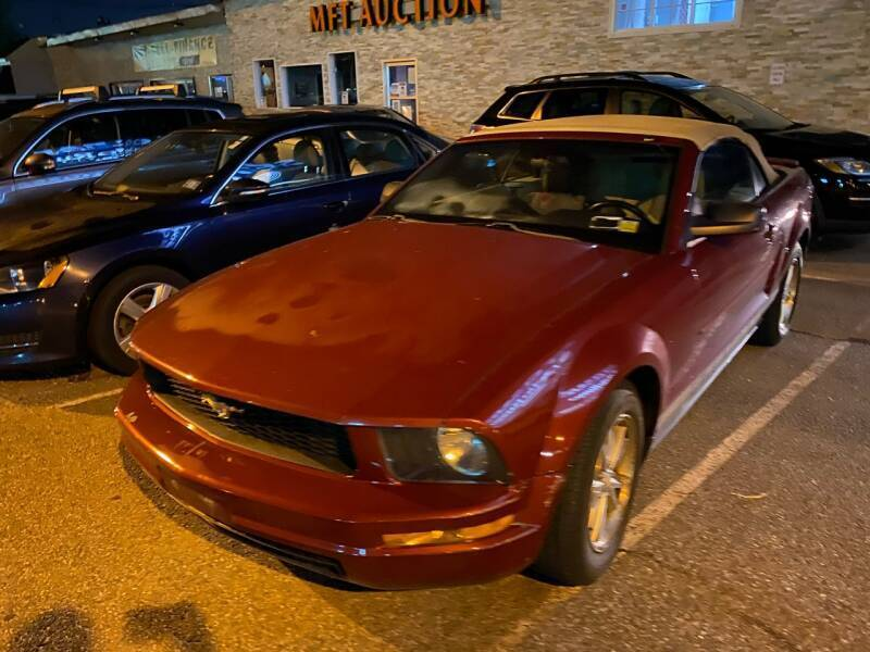 2008 Ford Mustang for sale at MFT Auction in Lodi NJ