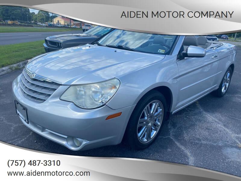 2008 Chrysler Sebring for sale at Aiden Motor Company in Portsmouth VA
