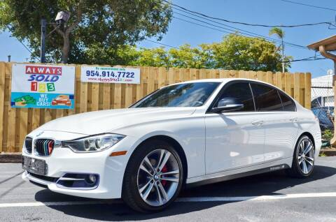 2013 BMW 3 Series for sale at ALWAYSSOLD123 INC in Fort Lauderdale FL