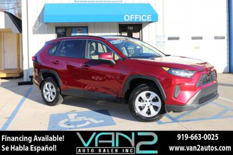 2019 Toyota RAV4 for sale at Van 2 Auto Sales Inc in Siler City NC