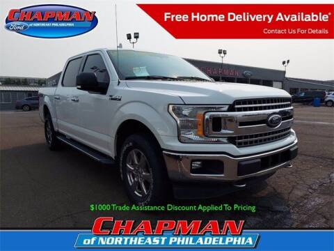 2018 Ford F-150 for sale at CHAPMAN FORD NORTHEAST PHILADELPHIA in Philadelphia PA