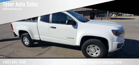 2016 Chevrolet Colorado for sale at Tyser Auto Sales in Dorchester NE
