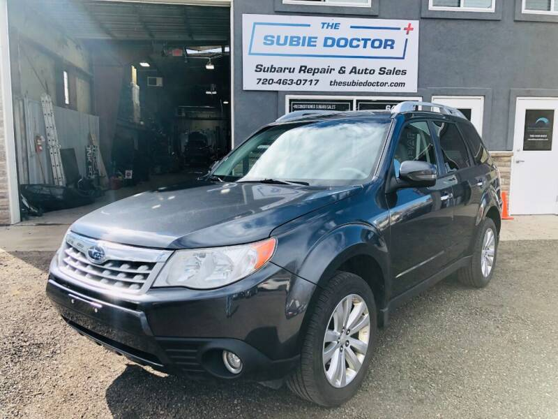 2011 Subaru Forester for sale at The Subie Doctor in Denver CO