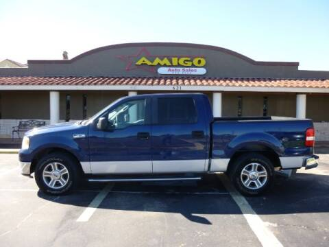 2007 Ford F-150 for sale at AMIGO AUTO SALES in Kingsville TX