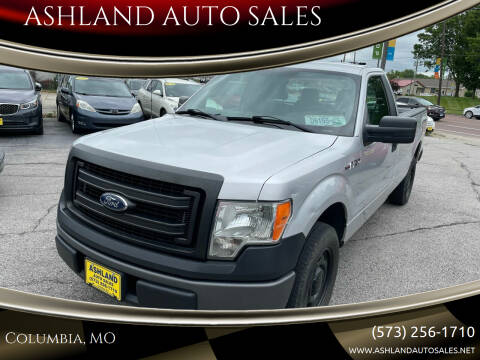 2014 Ford F-150 for sale at ASHLAND AUTO SALES in Columbia MO