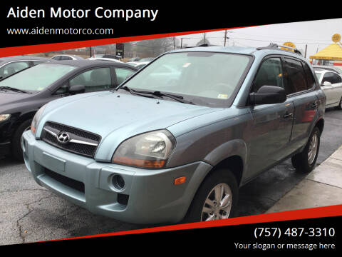 2009 Hyundai Tucson for sale at Aiden Motor Company in Portsmouth VA
