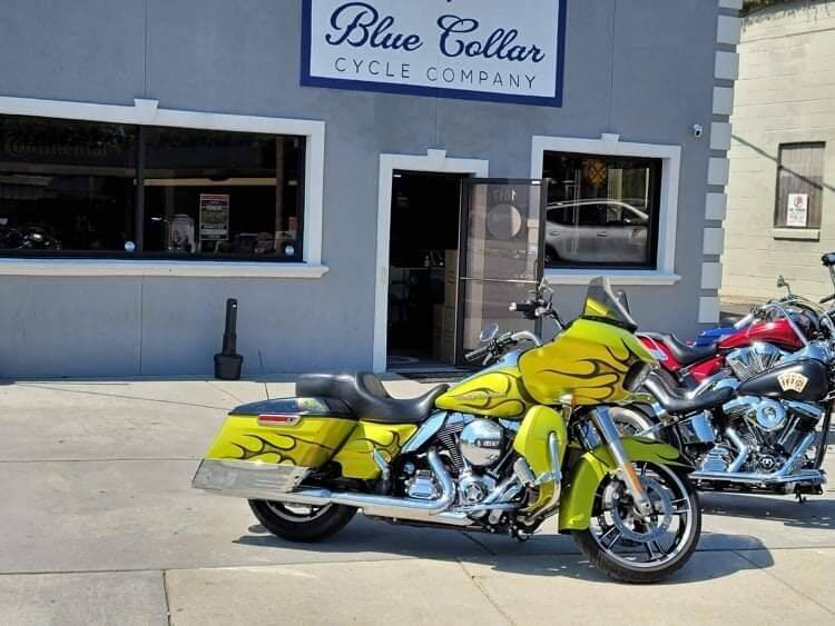 2015 Harley-Davidson FLTRXS for sale at Blue Collar Cycle Company in Salisbury NC