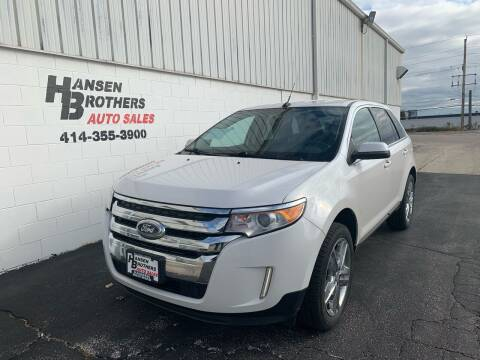 2012 Ford Edge for sale at HANSEN BROTHERS AUTO SALES in Milwaukee WI