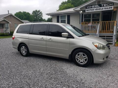 2007 Honda Odyssey for sale at Wheel Tech Motor Vehicle Sales in Maylene AL