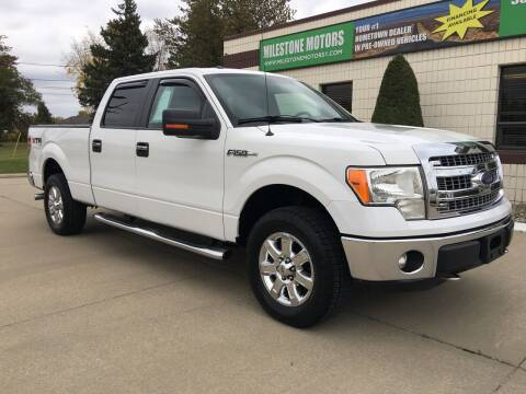 2013 Ford F-150 for sale at MILESTONE MOTORS in Chesterfield MI