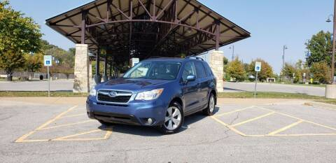 2015 Subaru Forester for sale at D&C Motor Company LLC in Merriam KS