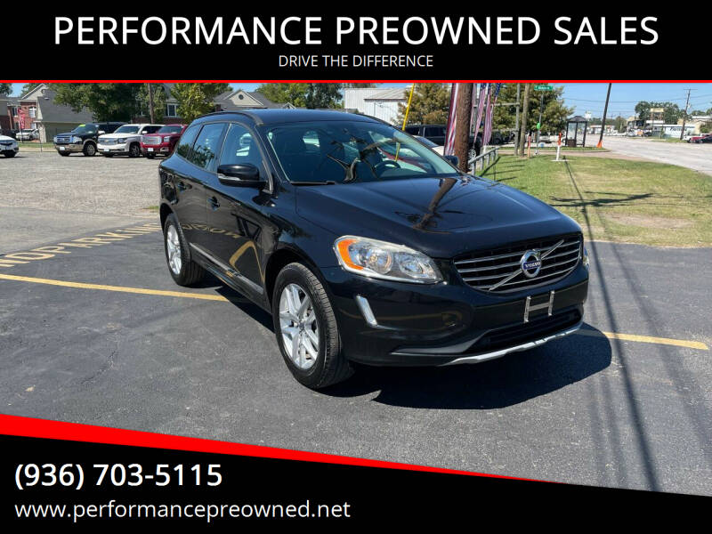 2017 Volvo XC60 for sale at PERFORMANCE PREOWNED SALES in Conroe TX