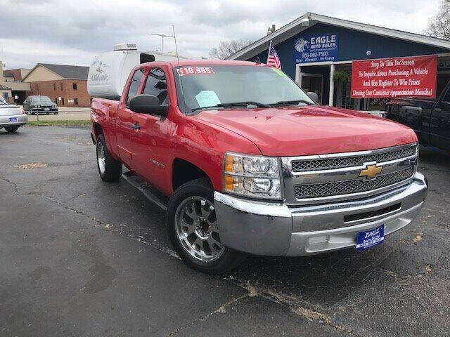 2013 Chevrolet Silverado 1500 for sale at EAGLE AUTO SALES in Lindale TX