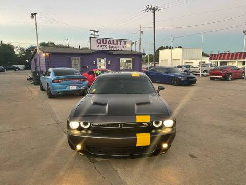 2018 Dodge Challenger for sale at Quality Auto Sales LLC in Garland TX