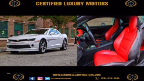 2015 Chevrolet Camaro for sale at Certified Luxury Motors in Great Neck NY