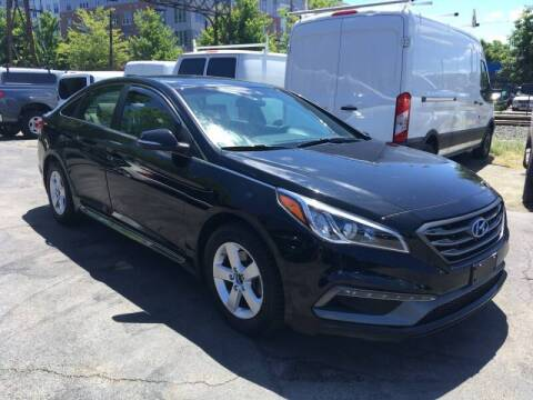 2017 Hyundai Sonata for sale at Mass Auto Exchange in Framingham MA