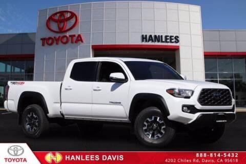 2021 Toyota Tacoma for sale at Hanlees Davis Toyota in Davis CA