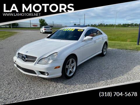 2011 Mercedes-Benz CLS for sale at LA MOTORS in Alexandria LA