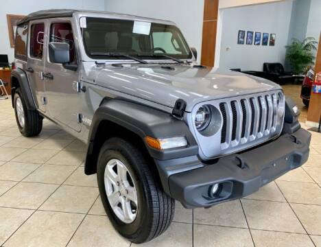 2021 Jeep Wrangler Unlimited for sale at Adams Auto Group Inc. in Charlotte NC