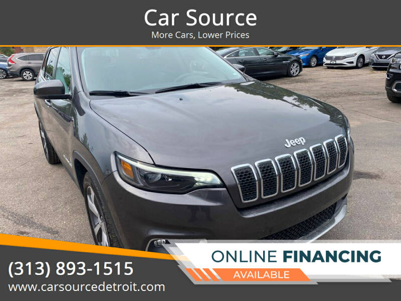 2020 Jeep Cherokee for sale at Car Source in Detroit MI