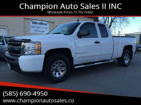2009 Chevrolet Silverado 1500 for sale at Champion Auto Sales II INC in Rochester NY